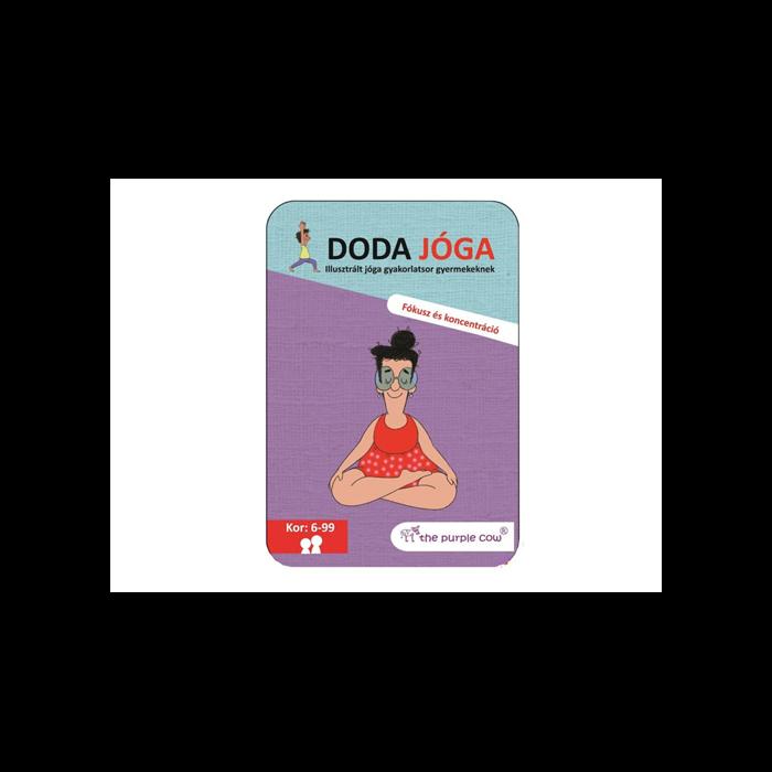 Doda jóga fókusz és koncentráció jóga gyermekeknek (6-99 év)