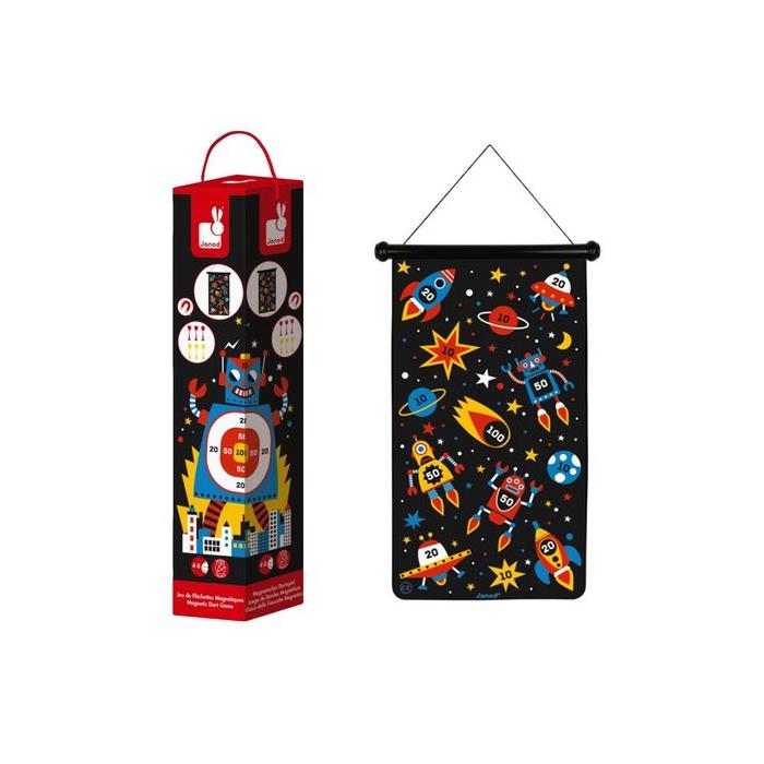 Janod - Mágneses darts - Robotos