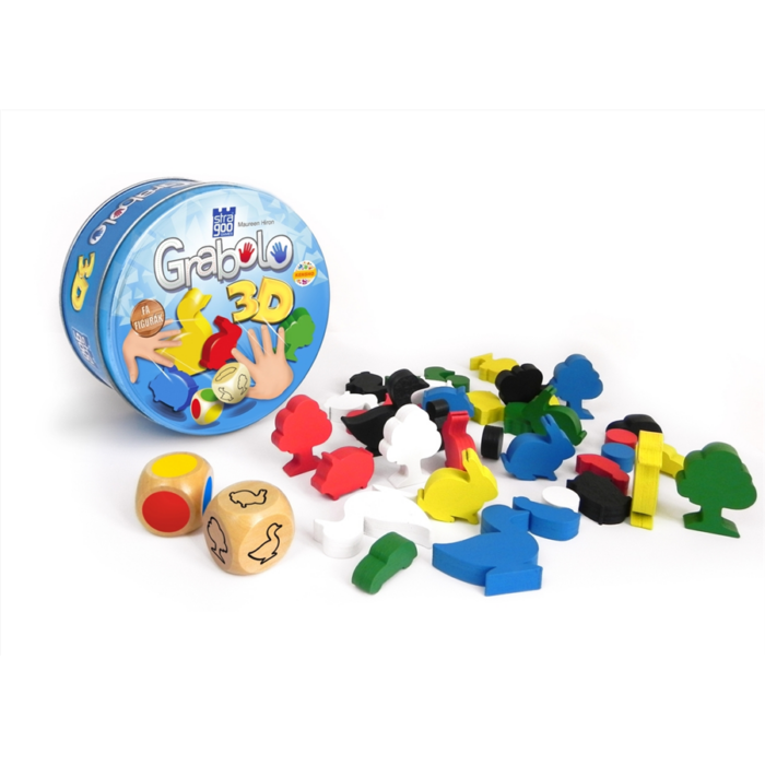 Stragoo - Grabolo 3D társasjáték