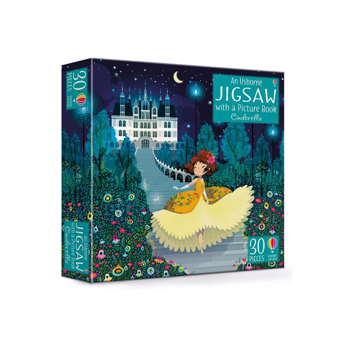 Book and Jigsaw Cinderella