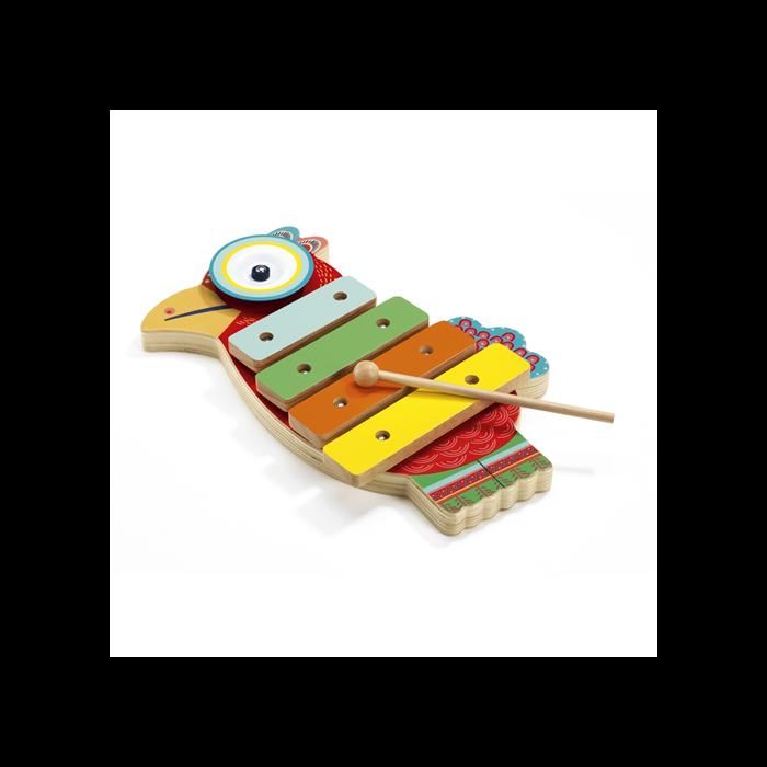 Djeco - Játékhangszer - Cintányér és xilofon