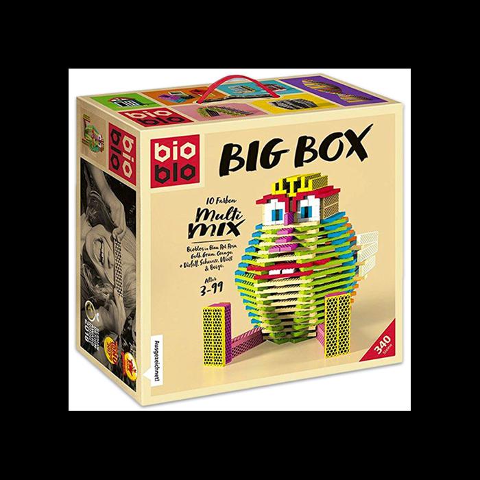 """Bioblo Big Box """"Multi Mix"""" 340 db-os építőjáték"""