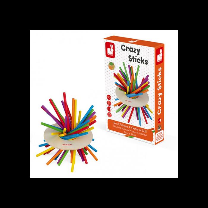 Janod - Crazy sticks - készségfejlesztő játék