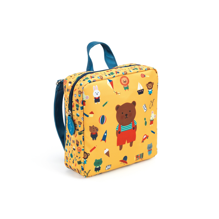 Djeco - Óvodás táska - Mackó