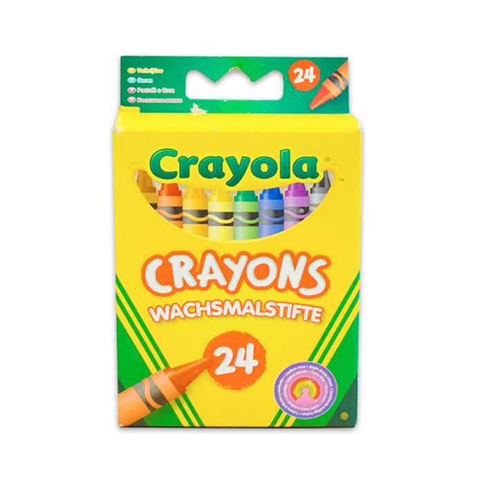 Crayola - Viaszkréta - 24 db-os