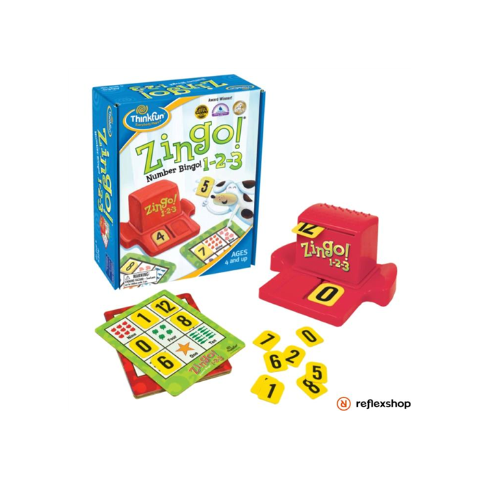 Thinkfun - Zingo!1-2-3