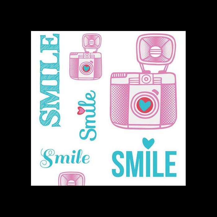 Aladine - Matrica készlet textilre - Smile