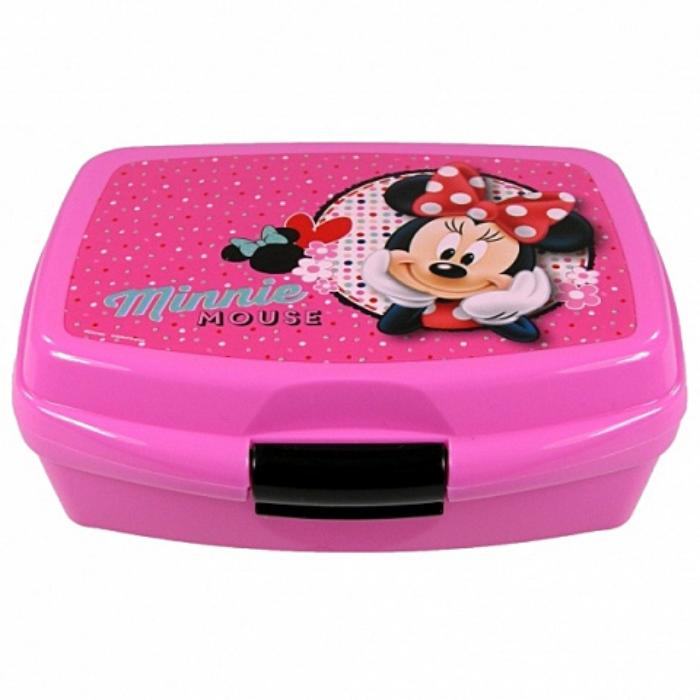 Minnie - Uzsonnás doboz - rózsaszín