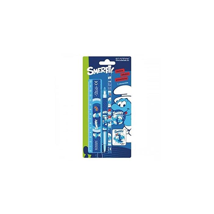 Hupikék Törpikék - Írószer - 5 db-os