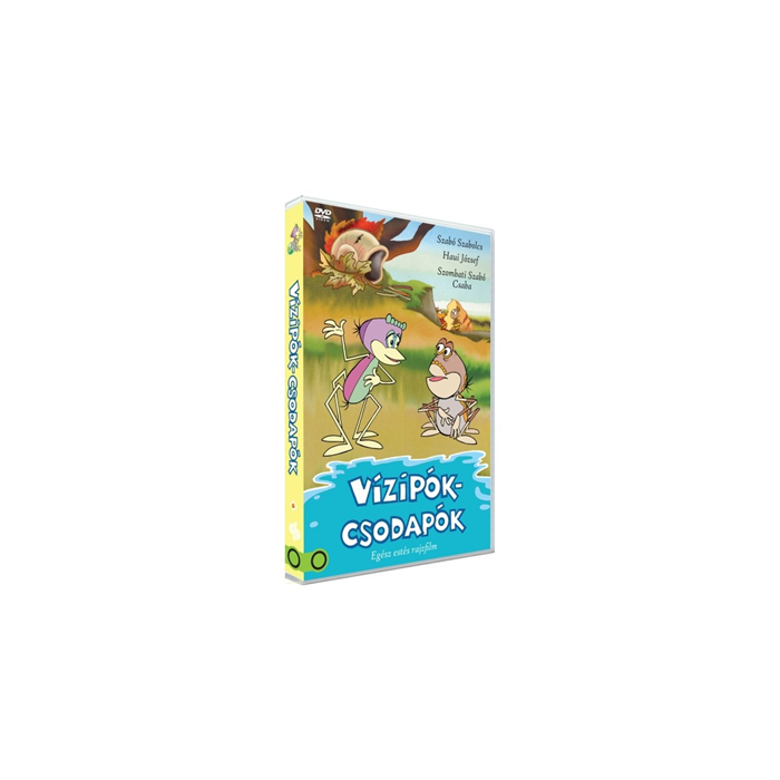 Vízipók-csodapók - Egész estés rajzfilm DVD