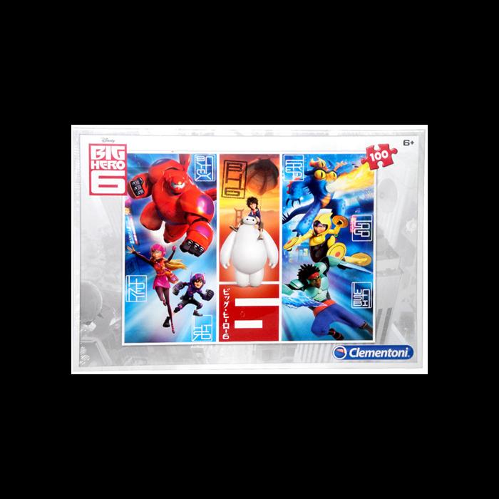 Clementoni - Big Hero 6 - Puzzle - 100 db-os