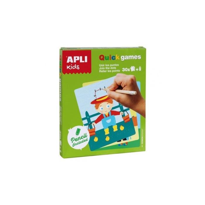 Apli Kids - Mini játékok - Pontról pontra színező