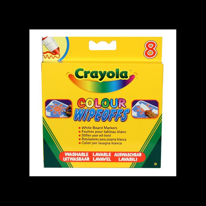 Crayola - Táblafilc - Vastag, Lemosható