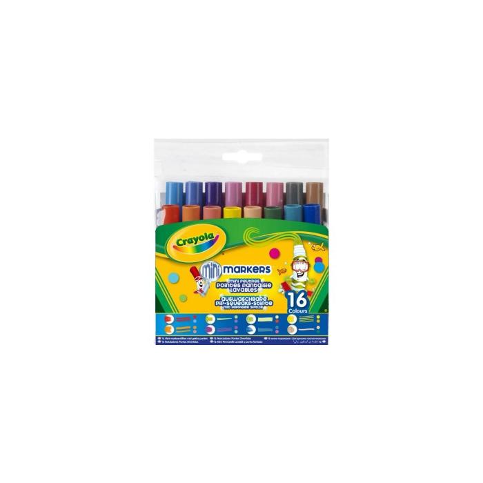 Crayola - Különleges hegyű mintázófilc