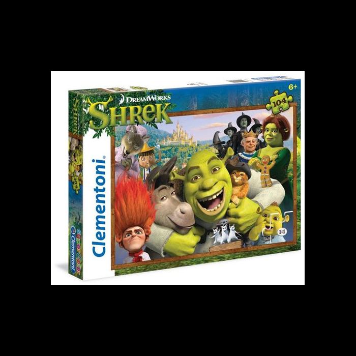 Clementoni - Shrek puzzle - 104 db-os