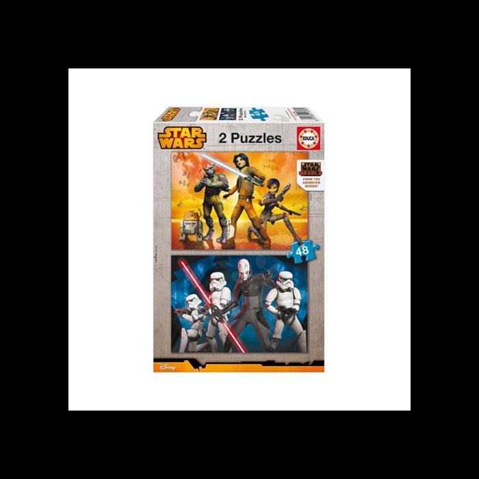 Star Wars Rebels puzzle - 2x48 darabos