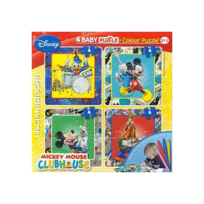 Disney 4*4 minipuzzle + filctollak