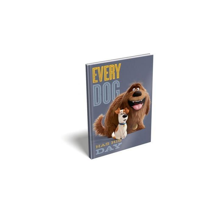 The Secret Life of Pets - Notesz - keményfedeles