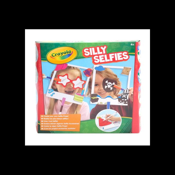 Crayola - Bolondos Selfie kellékek készlet