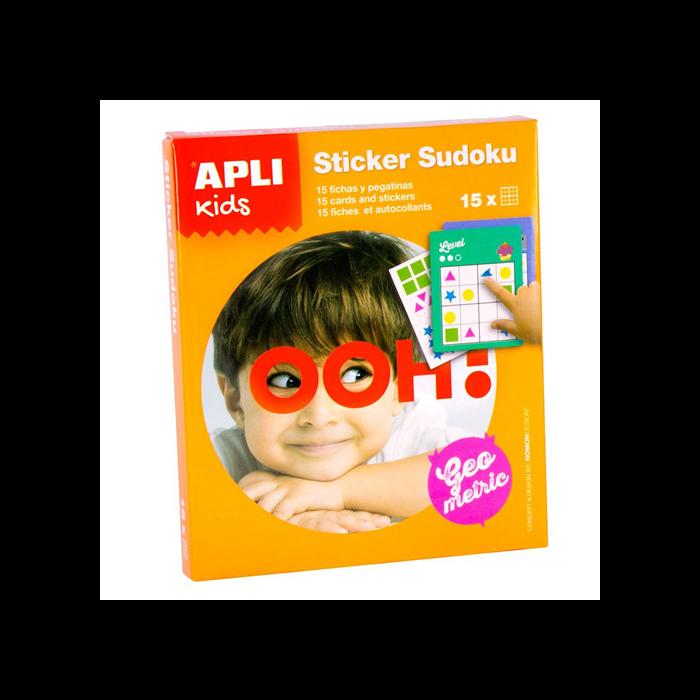 Apli Kids - Sudoku matricázó - sárga