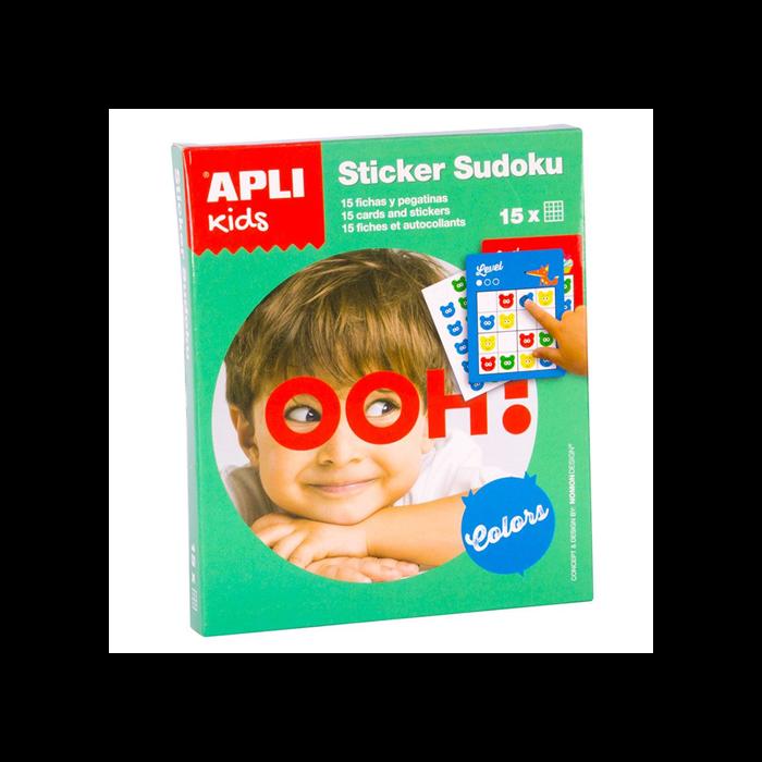 Apli Kids - Sudoku matricázó - zöld