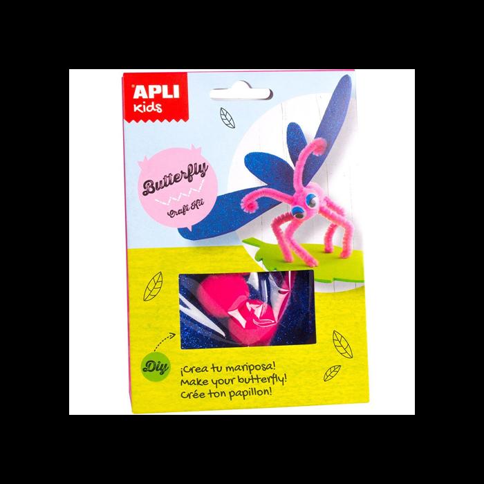 Apli Kids - Craft Kit figura készítő - Pillangó