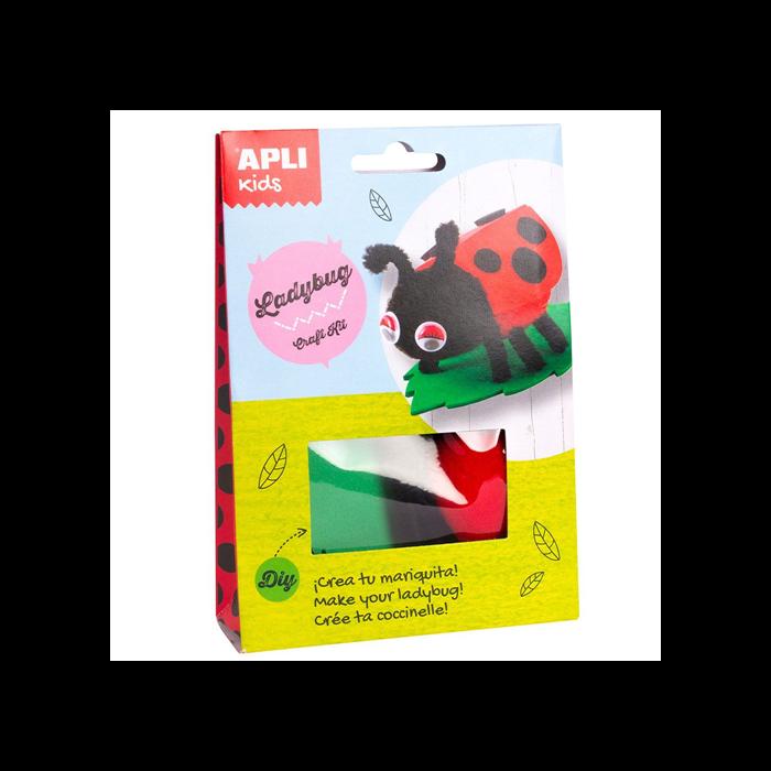 Apli Kids - Craft Kit figura készítő - Katicabogár