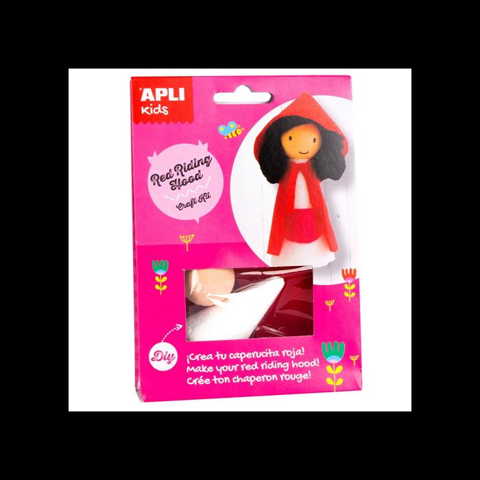 Apli Kids - Craft Kit figura készítő - Piroska