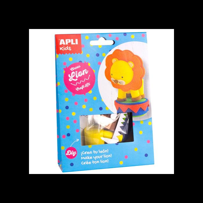 Apli Kids - Craft Kit figura készítő - Cirkuszi oroszlán