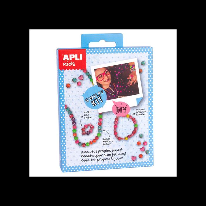 Apli Kids - Mini Kit - Ékszerkészítő szívecskék