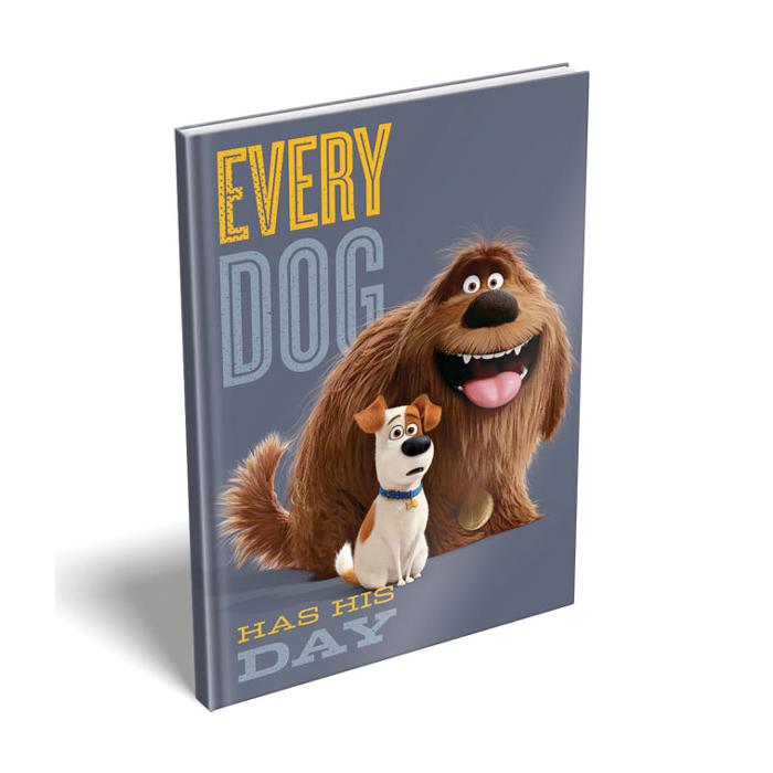 The Secret Life of Pets - Kemény fedeles notesz - Max