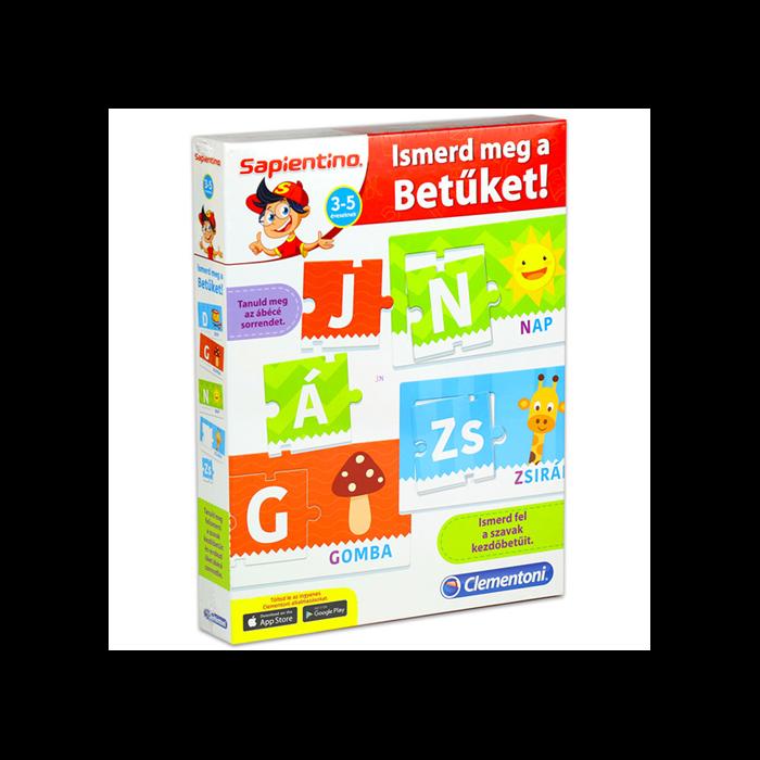 Sapientino - Fejlesztő társasjáték - Ismerd meg a betűket