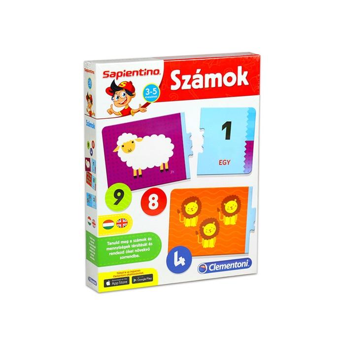 Sapientino - Fejlesztő társasjáték - Számok