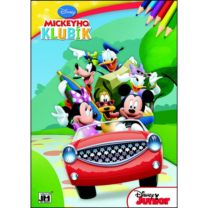 Mickey egér - A4 színezőfüzet