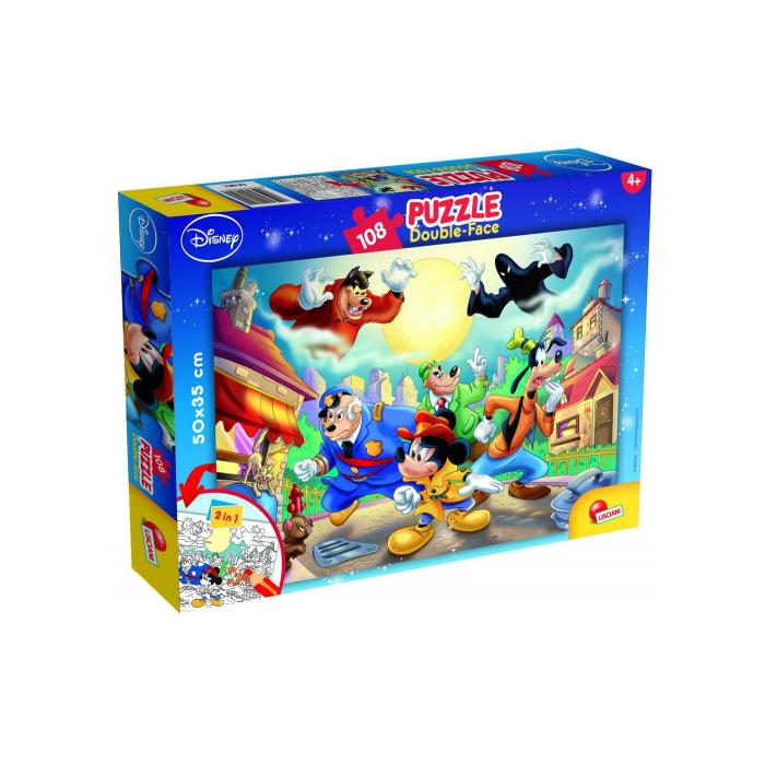 Mickey és a Biggie Boyok Disney puzzle - 108 db-os