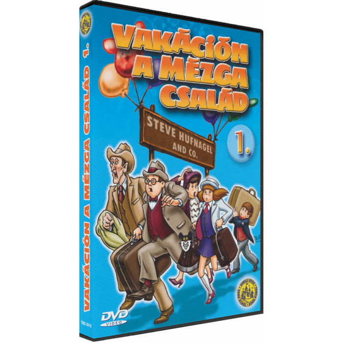 Vakáción a Mézga család 1. - DVD