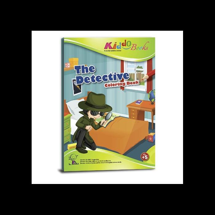 Kiddo Books - Nyomozós színező
