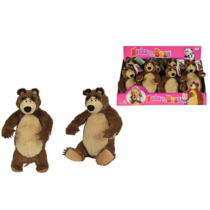 Mása és a medve - Medve plüss - 25 cm