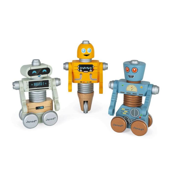 Janod - Brico'kids DIY robotok