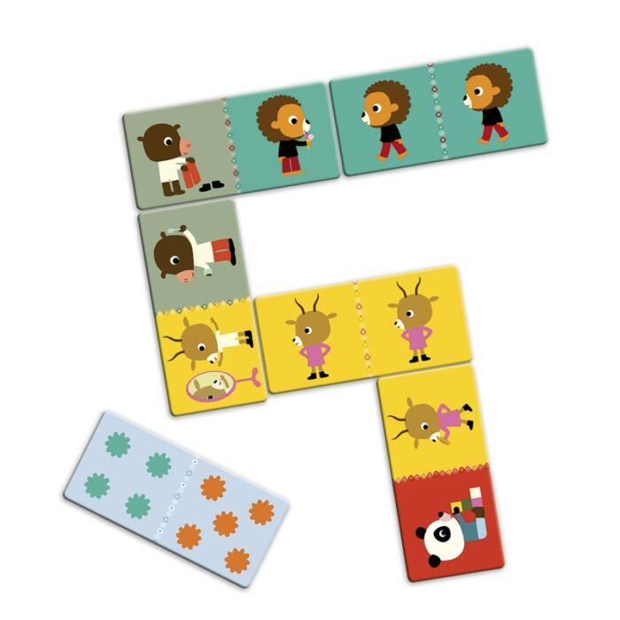 Djeco - Óriás dominó - Barátok
