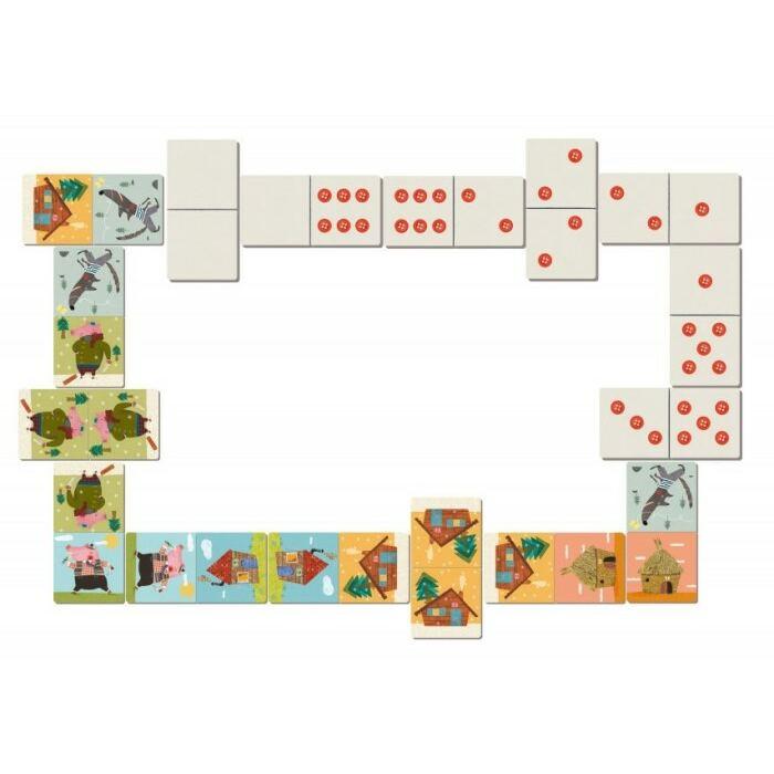 Londji - Három kismalac dominó