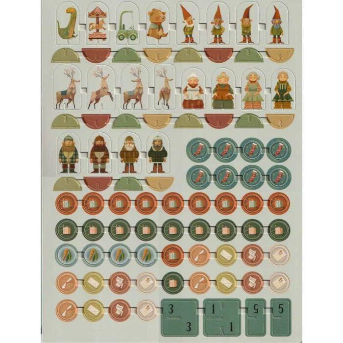 Nagy karácsonyi játékkönyv - 8 mesés társasjáték kivehető figurákkal