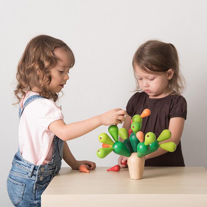 Plan Toys - Egyensúlyozó játék – Kaktusz