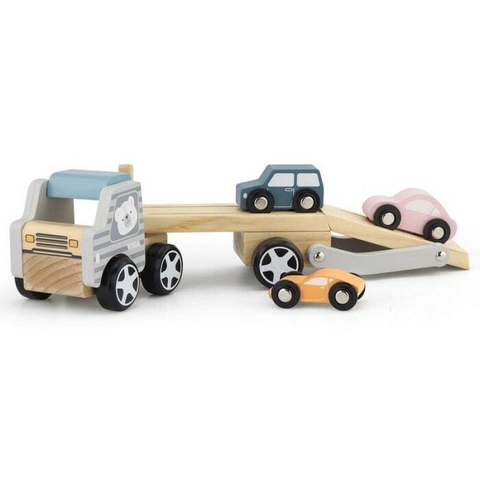 Fajáték - Autószállító tréler