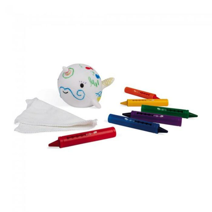 Janod - Fürdőjáték - színezhető delfikorn