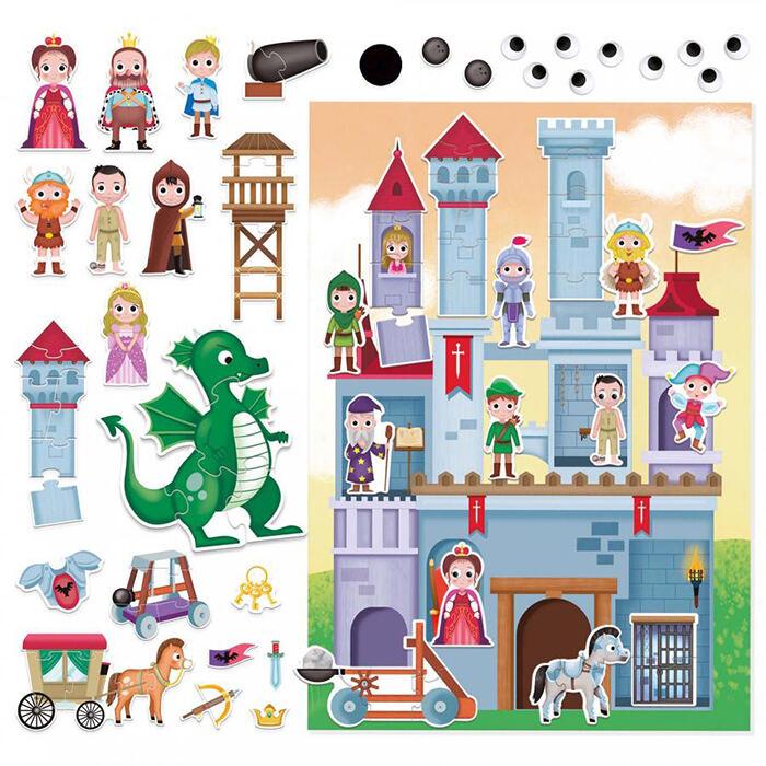 Szerepjáték puzzle - Lovagvár