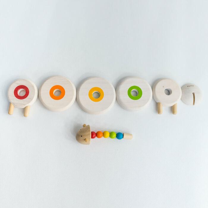Plan Toys - Összefűzhető juh
