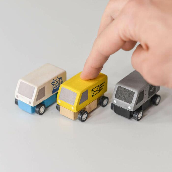 Plan Toys - Szállító autók
