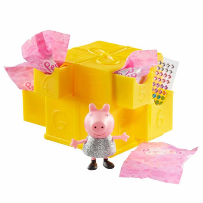Peppa malac meglepetés doboz kiegészítőkkel