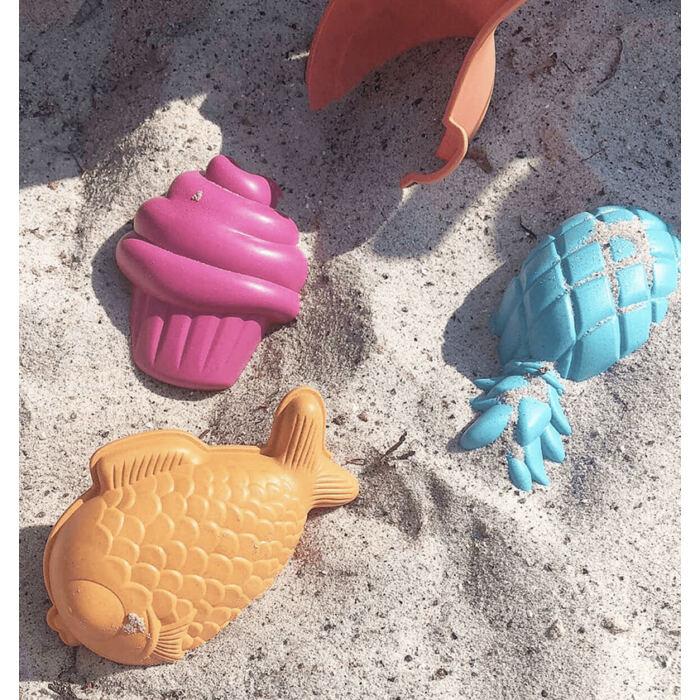 Öko homokozó szett locsolóval - 6 részes